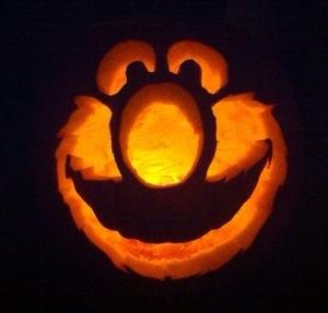 elmo, pumpkin, josh marint, josh martin blog