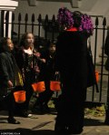kids in the uk trick or trating, josh martin blog