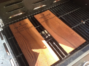 grilled salmon, cedar planks, josh martin blog, how to, about, make