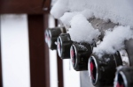 snowy grill, grilling in the snow, webber grill, josh martin blog
