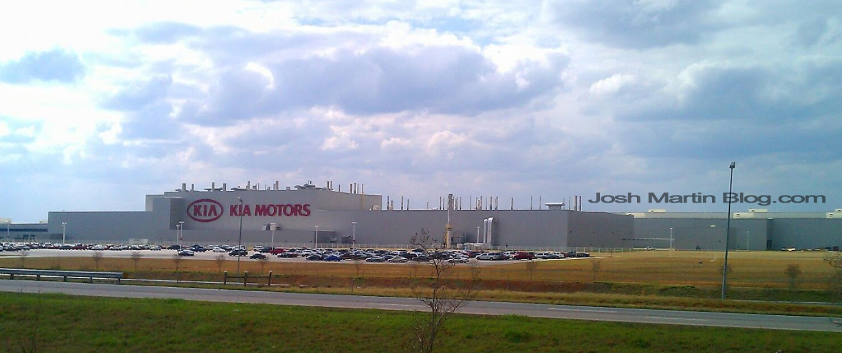 kia proudly biulds its sorrento in west point georgia