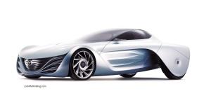 mazda, concept, car, auto adapy. la auto show, 2013