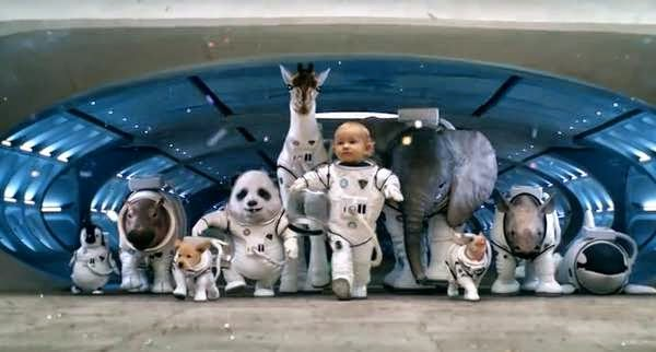 baby astronaut super bowl commercial - photo #9